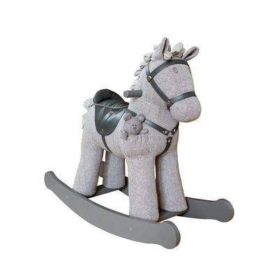 A Little Bird Told Me Stirling & Mac Rocking Horse - 12m+-Ride-on & Rockers-Default- Natural Baby Shower