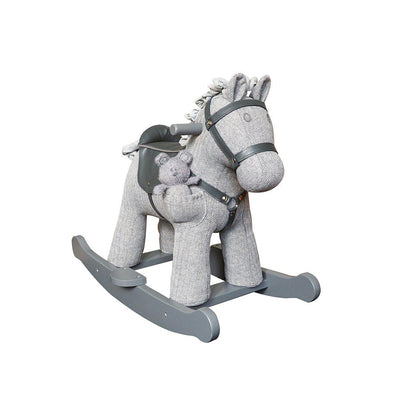 A Little Bird Told Me Stirling & Mac Rocking Horse - 9m+-Ride-on & Rockers-Default- Natural Baby Shower