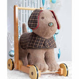 A Little Bird Told Me - Push Along - Percy Pup-Baby Walkers- Natural Baby Shower
