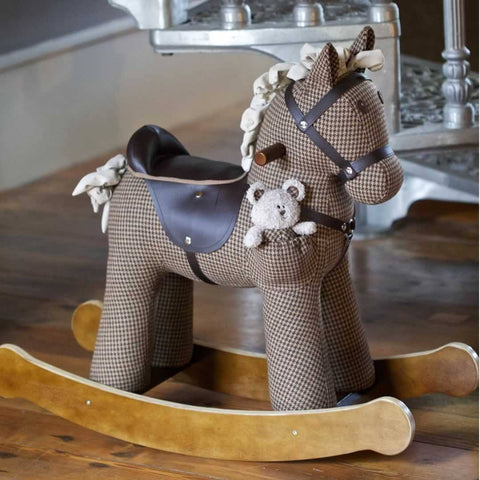 A Little Bird Told Me - Rocking Horse - Chester & Fred-Ride-on & Rockers-Default- Natural Baby Shower
