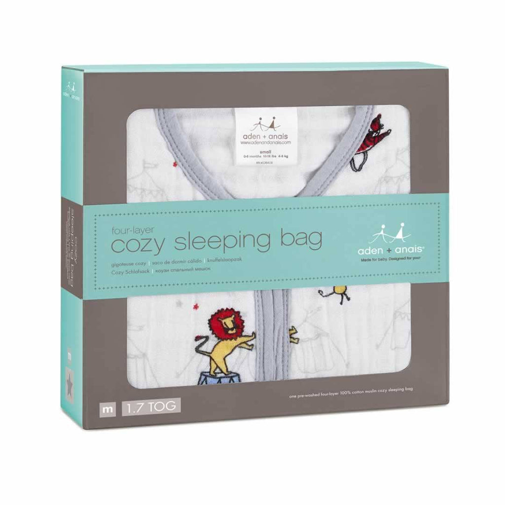 Aden & Anais Cozy Sleeping Bag Vintage Circus