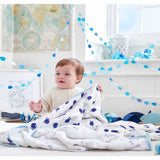 Aden & Anais Muslin Dream Blanket High Seas Lifestyle