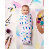 Aden & Anais Muslin Swaddles Wink Lifestyle