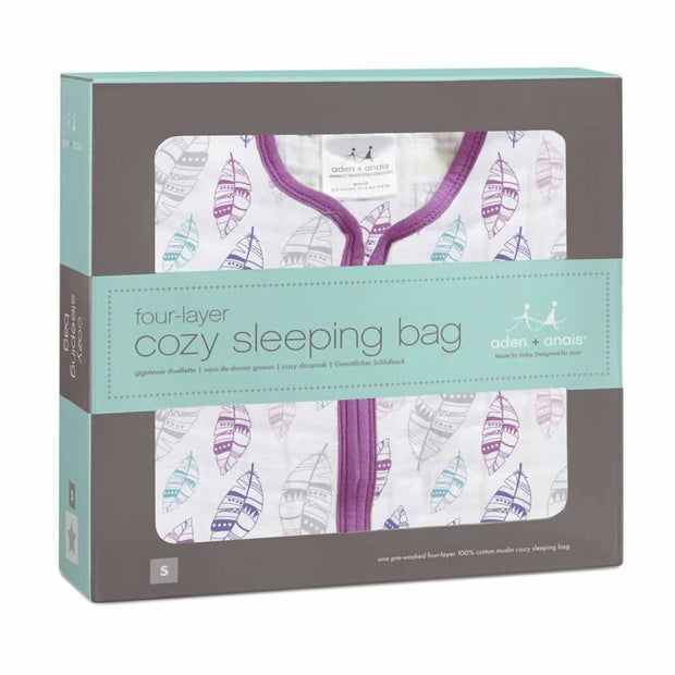 aden + anais Multi-Layer Sleeping Bag TOG 1.7 - Wink-Sleeping Bags- Natural Baby Shower