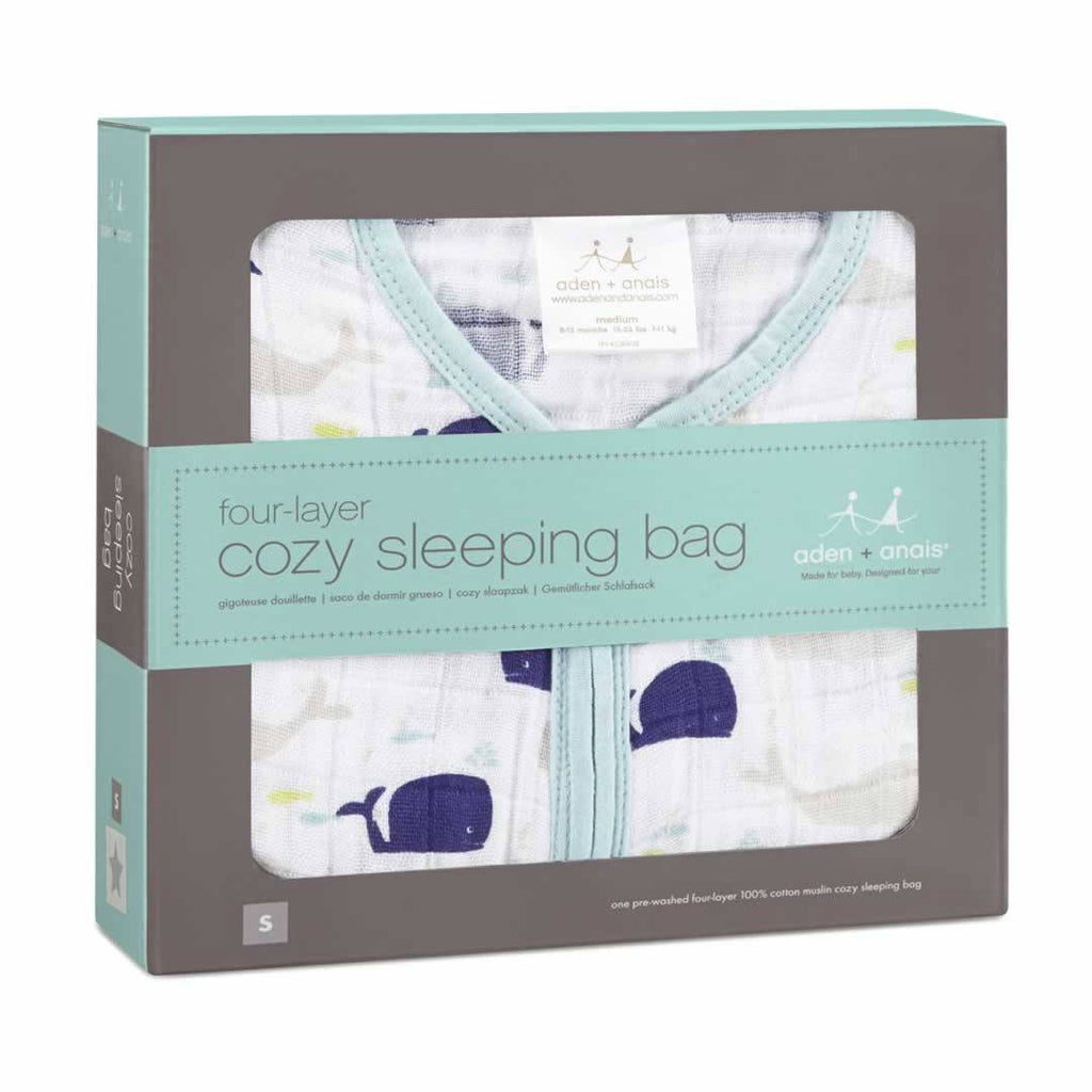 Aden & Anais Cozy Sleeping Bag High Seas