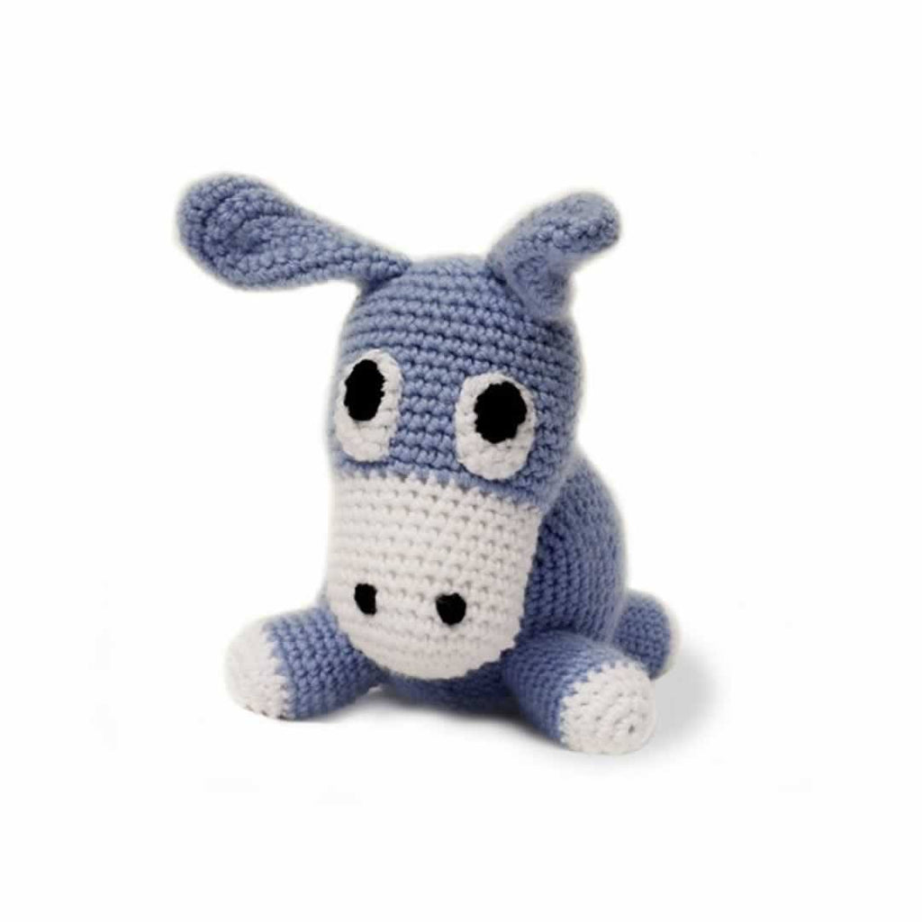 Ana Gibb Knitted Donkey - Soft Toys - Natural Baby Shower