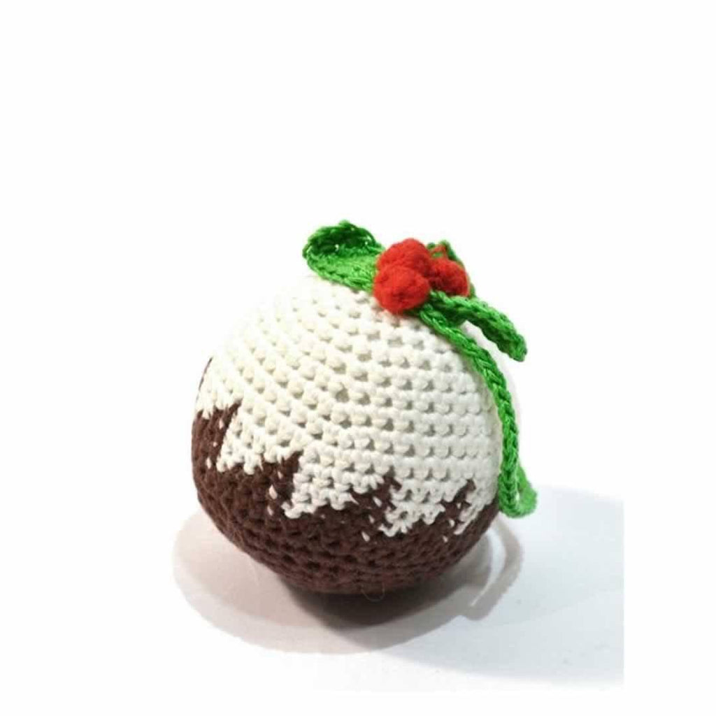 Soft Toys - Ana Gibb Knitted Pudding Cake