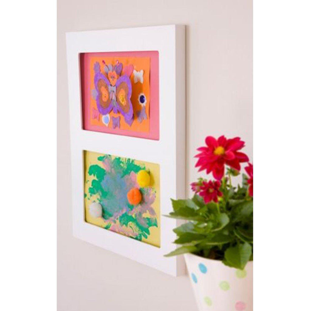 Articulate Gallery A4 Double Frame-Picture Frames- Natural Baby Shower
