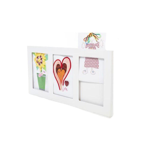 Articulate Gallery A4 Triple Frame-Picture Frames- Natural Baby Shower