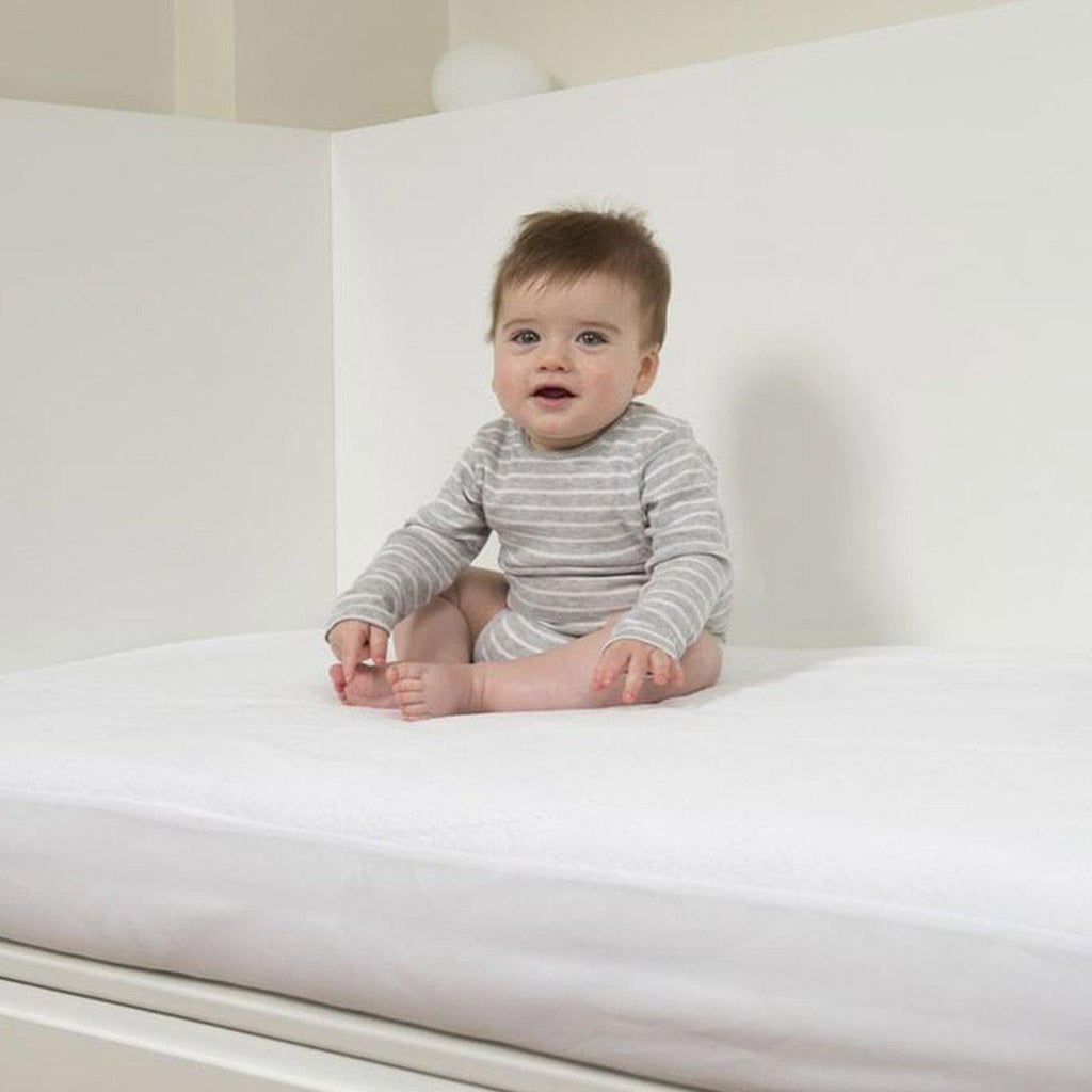 B-Sensible Baby Fitted Sheet - Crib 80 x 50 - Cream-Sheets-Default- Natural Baby Shower