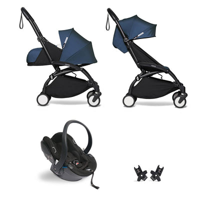 BABYZEN YOYO2 Travel System - Air France Blue-Travel Systems-Air France Blue-Black- Natural Baby Shower