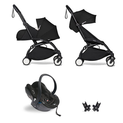 BABYZEN YOYO2 Travel System - Black-Travel Systems-Black-Black- Natural Baby Shower