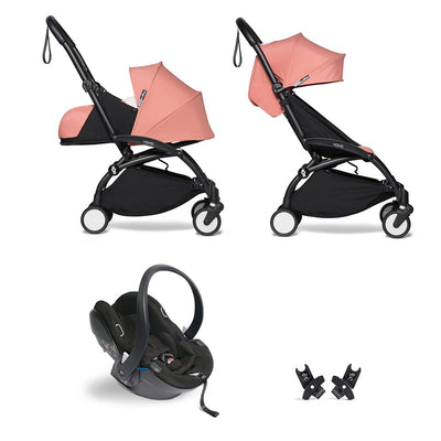 BABYZEN YOYO2 Travel System - Ginger-Travel Systems-Ginger-Black- Natural Baby Shower