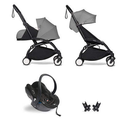 BABYZEN YOYO2 Travel System - Grey-Travel Systems-Grey-Black- Natural Baby Shower