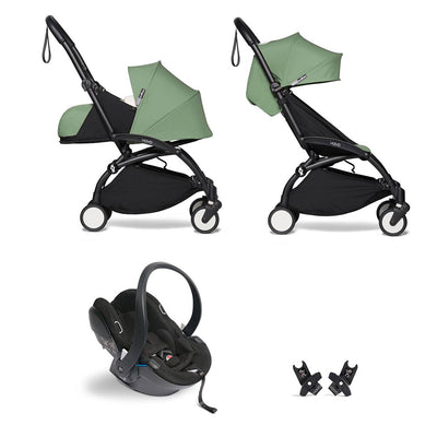 BABYZEN YOYO2 Travel System - Peppermint-Travel Systems-Peppermint-Black- Natural Baby Shower