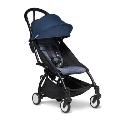 BABYZEN YOYO2 Stroller - Air France Blue-Strollers-Air France Blue-Black-None- Natural Baby Shower