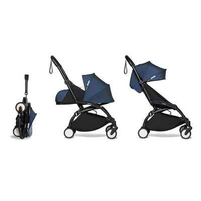 BABYZEN YOYO2 Complete Stroller - Air France Blue-Stroller Bundles-Air France Blue-Black- Natural Baby Shower