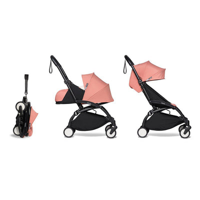 BABYZEN YOYO2 Complete Stroller - Ginger-Stroller Bundles-Ginger-Black- Natural Baby Shower