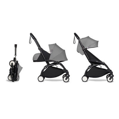 BABYZEN YOYO2 Complete Stroller - Grey-Stroller Bundles-Grey-Black- Natural Baby Shower