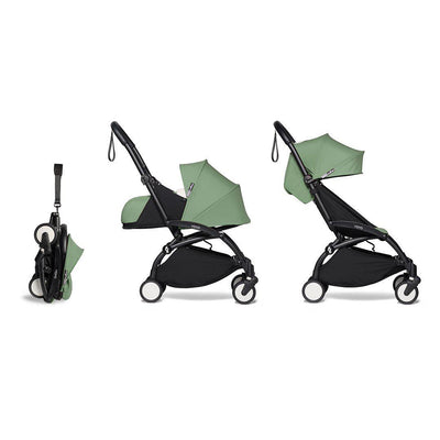 BABYZEN YOYO2 Complete Stroller - Peppermint-Stroller Bundles-Peppermint-Black- Natural Baby Shower