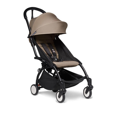 BABYZEN YOYO2 Stroller - Taupe-Strollers-Taupe-Black- Natural Baby Shower