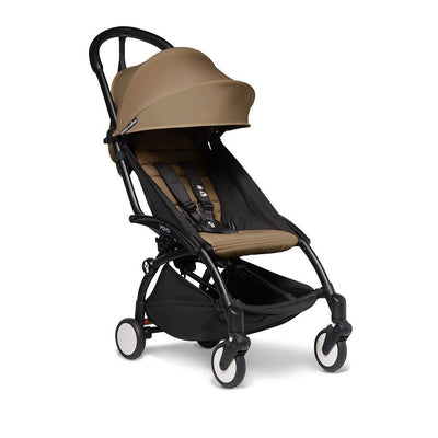 BABYZEN YOYO2 Stroller - Toffee-Strollers-Toffee-Black- Natural Baby Shower