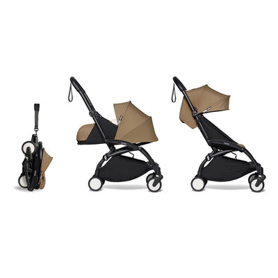BABYZEN YOYO2 Complete Stroller - Toffee-Stroller Bundles-Toffee-Black- Natural Baby Shower
