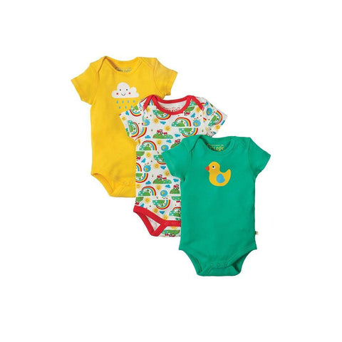 Frugi Super Special Body - Happy Days - 3 Pack