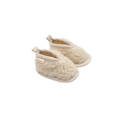 BINIBAMBA Baby Merino Booties - Milk-Booties- Natural Baby Shower