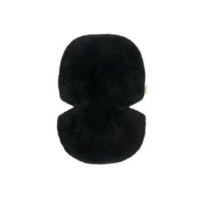 BINIBAMBA Sheepskin Snuggler - Noir-Seat Liners- Natural Baby Shower