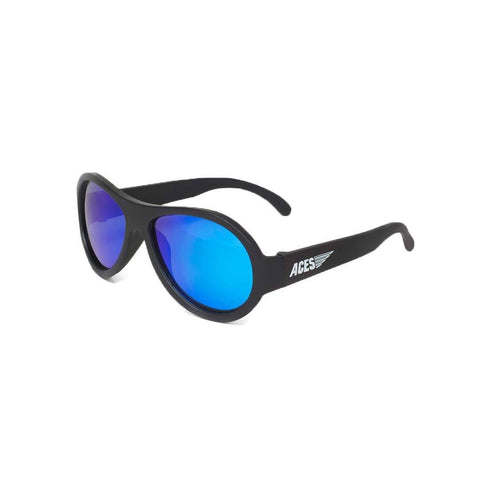 Babiators Aces Aviator - Black Ops Black with Blue Lens