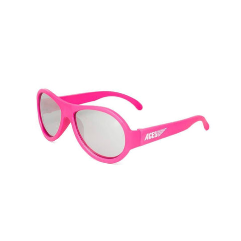 Babiators Aces Aviator - Popstar Pink with Mirrored Lens