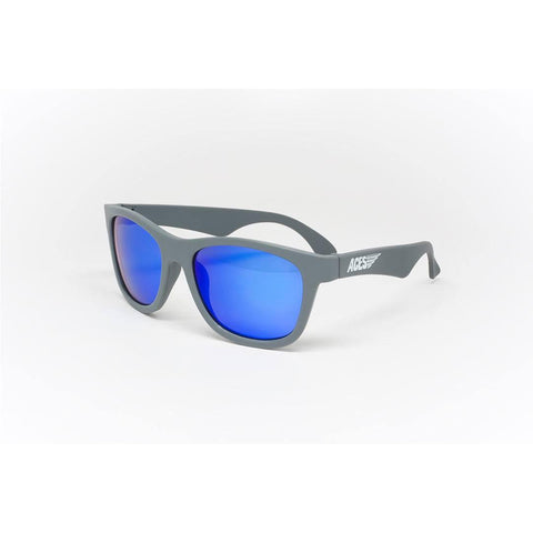 Babiators Aces Navigator in Galactic Gray with Blue Lens