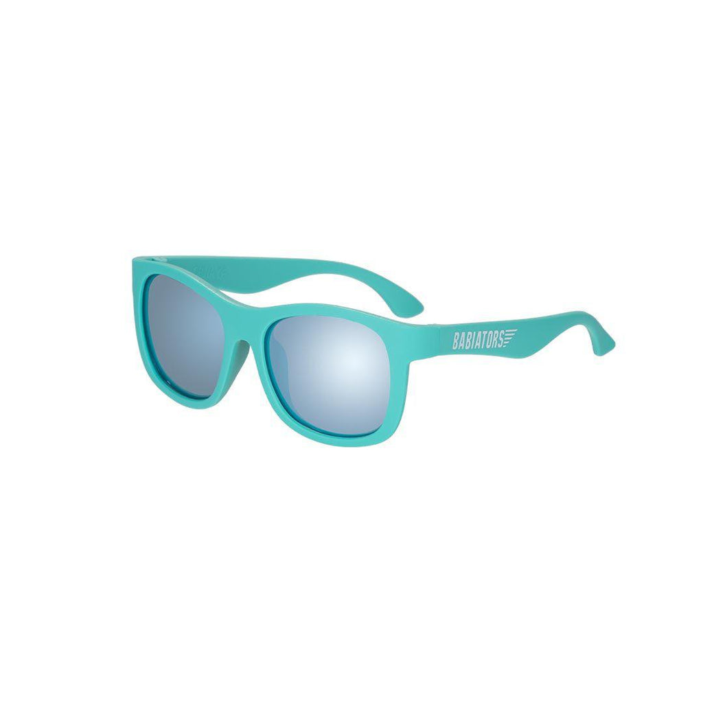 Babiators Blue Series Navigator - Junior - The Surfer-Sunglasses-The Surfer-Junior (Ages 0-2)- Natural Baby Shower