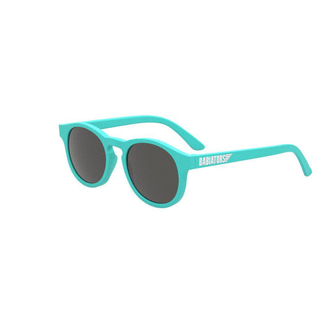Babiators Original Classic Keyhole - Totally Turquoise-Sunglasses-Totally Turquoise-Classic (Ages 3-5)- Natural Baby Shower