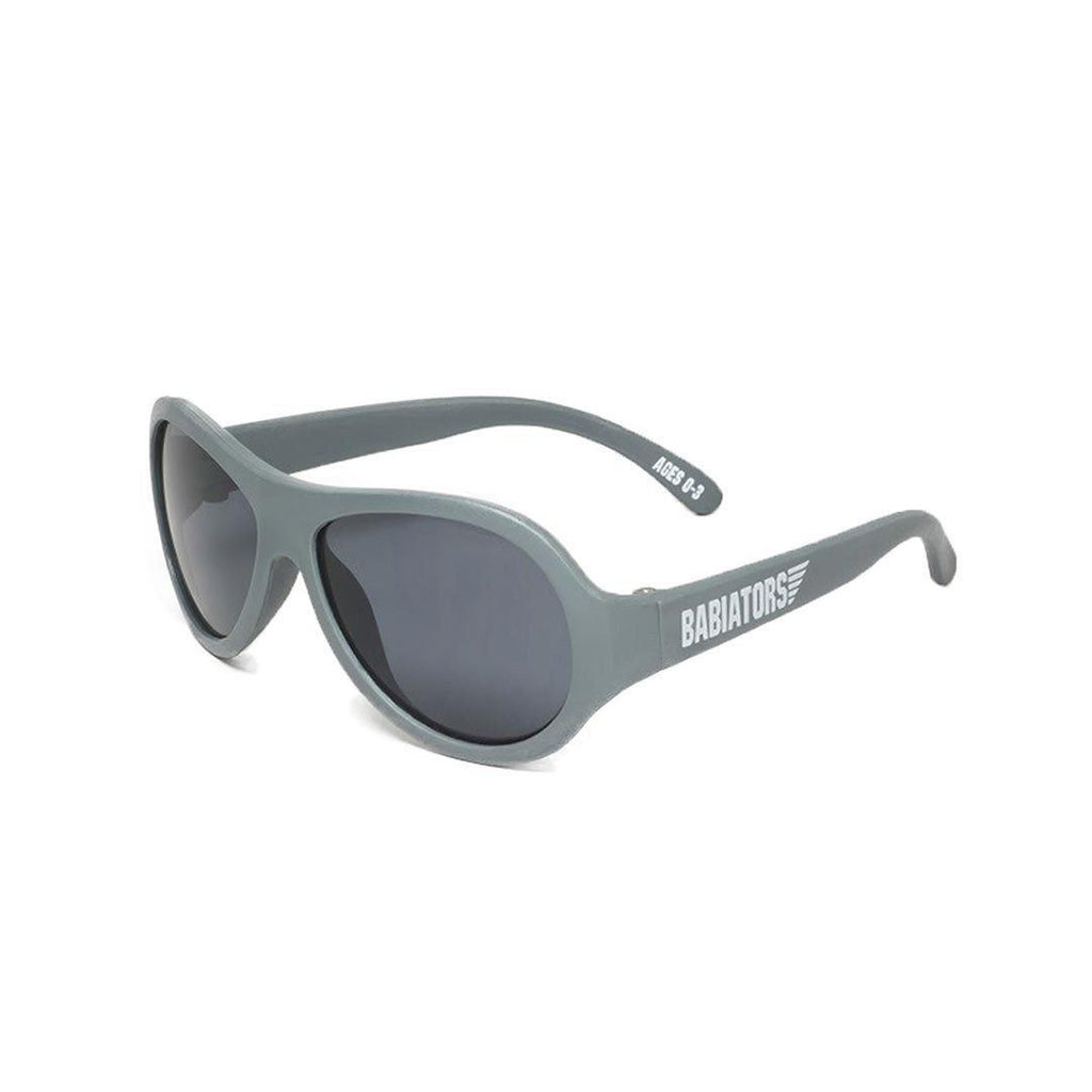 Babiators Original Aviator - Galactic Gray-Sunglasses- Natural Baby Shower