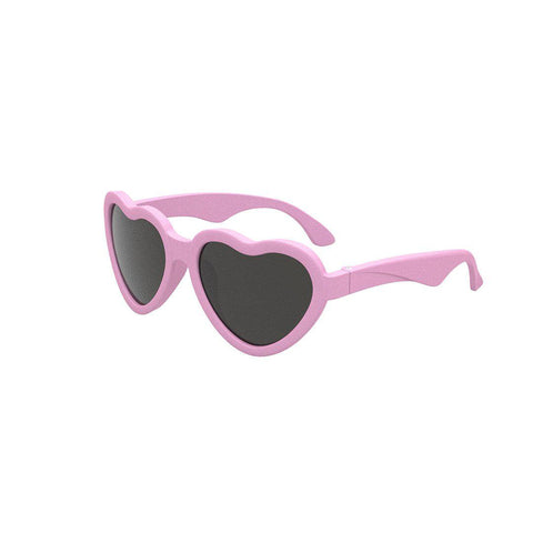 Babiators Original Junior Heart Shaped - Pink-Sunglasses-Pink-Junior (Ages 0-2)- Natural Baby Shower