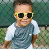 Babiators Original Classic Navigator - Hello Yellow-Sunglasses-Classic (Ages 3-5)-Hello Yellow- Natural Baby Shower