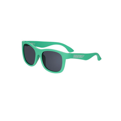 Babiators Original Junior Navigator Sunglasses - Sea Green-Sunglasses-Junior (Ages 0-2)-Sea Green- Natural Baby Shower