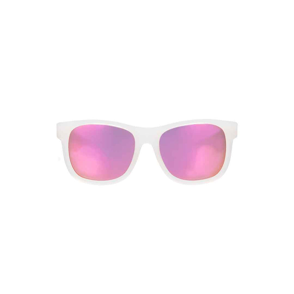 Babiators Original Navigator - Premium Pink Ice-Sunglasses- Natural Baby Shower