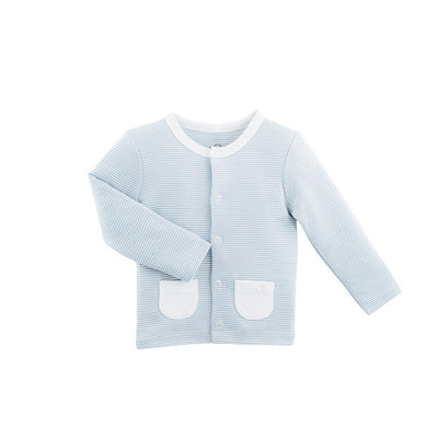 MORI Cardigan - Blue-Cardigans- Natural Baby Shower