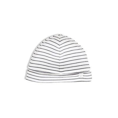 MORI Hat - Grey Stripe-Hats- Natural Baby Shower