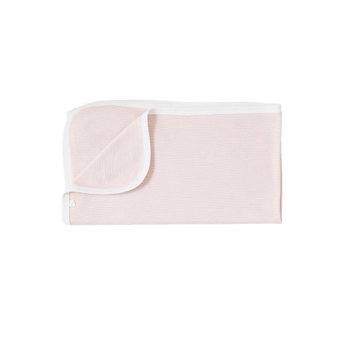 MORI Organic Bamboo Blanket - Blush-Blankets- Natural Baby Shower