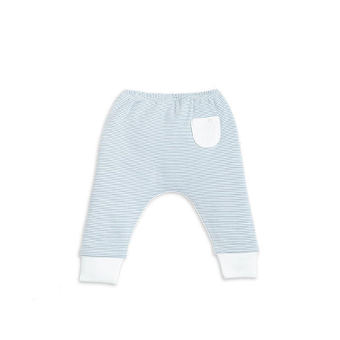 Baby Mori Yoga Pants Blue