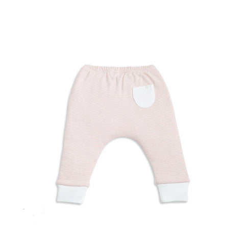 Baby Mori Yoga Pants Blush