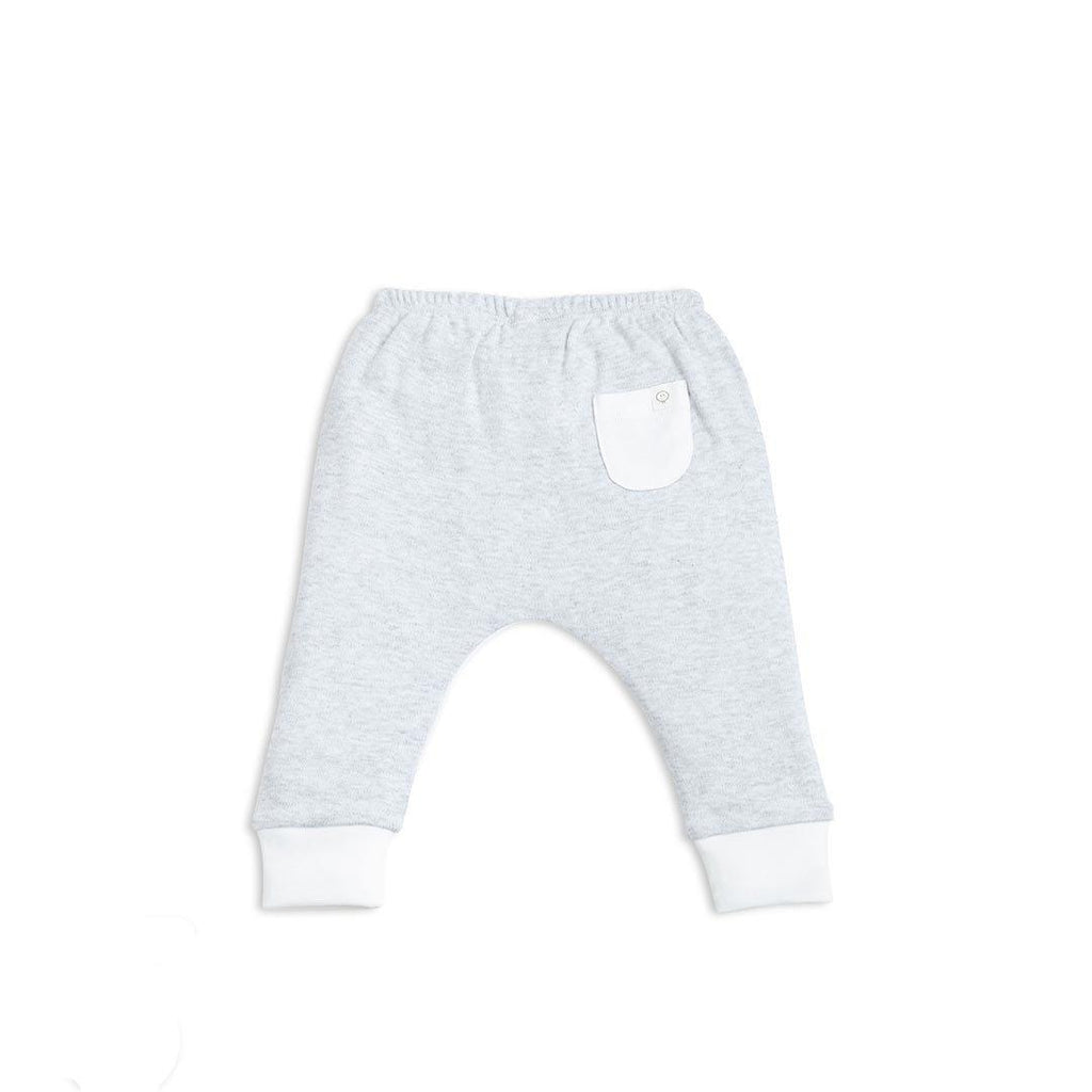 Baby Mori Yoga Pants Grey