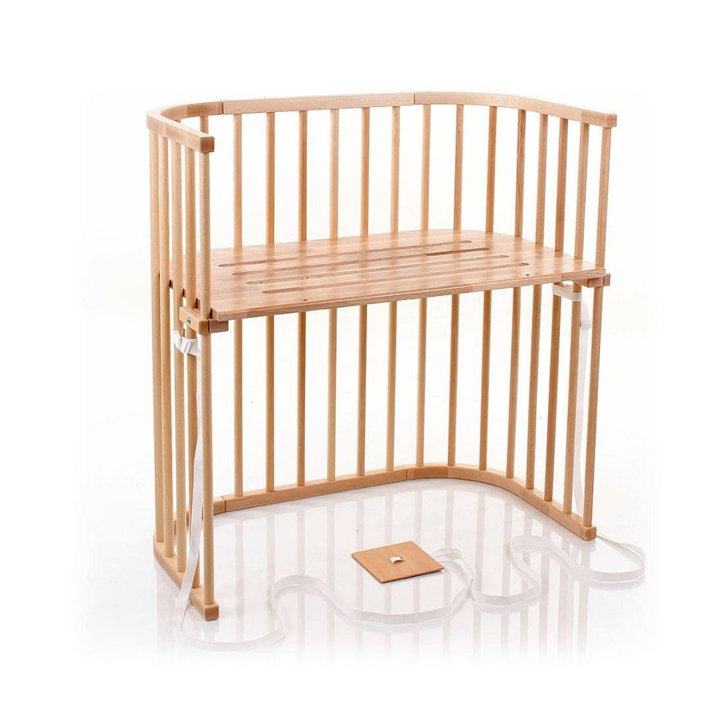BabyBay Boxspring Bedside Crib - Varnished Beech-Cribs-Default- Natural Baby Shower