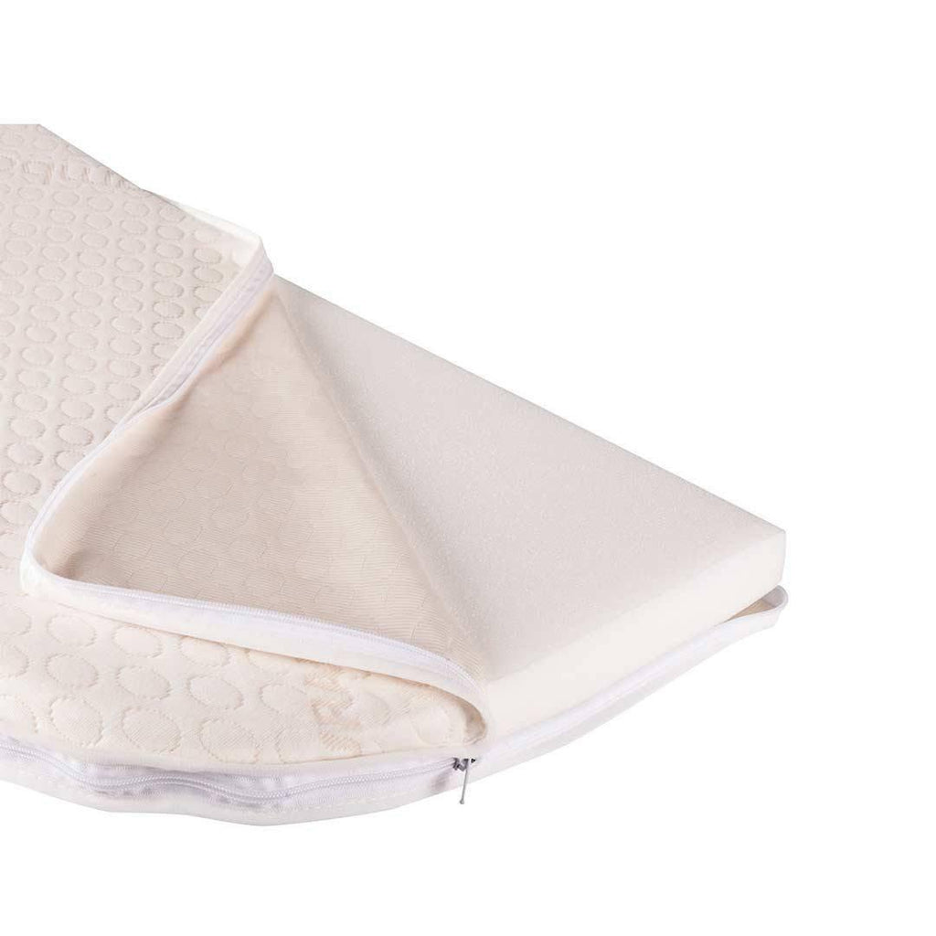 BabyBay Convertible - Foam Mattress with Bamboo Cover Open