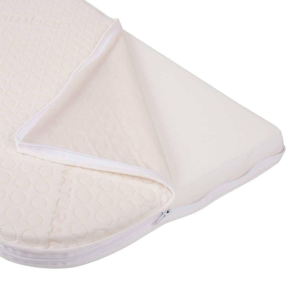 BabyBay Maxi - Foam Mattress with Bamboo Cover Open