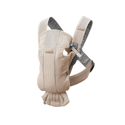 BabyBjorn 3D Mesh Mini Baby Carrier - Pearly Pink-Baby Carriers-Pearly Pink- Natural Baby Shower